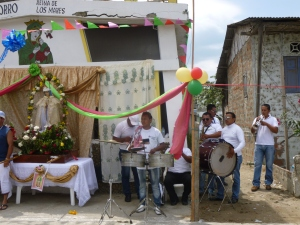 Band Celebrating The Feast Of Our Lady of Guadalupe, Crucita, Ecuador