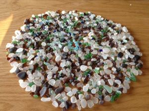 A Day Of Collecting Sea Glass: Port Townsend, Washington
