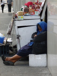 Woman Sleeping: Quito, Ecuador