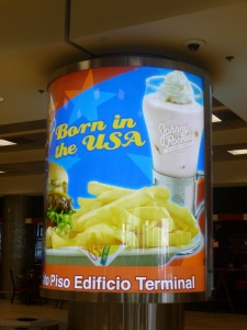 Food: Mariscal Sucre International Airport