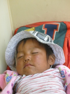 Sleeping Child: Cumbaya, Ecuador