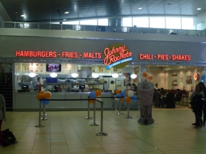 Johnny Rockets Restaurant: Mariscal Sucre International Airport