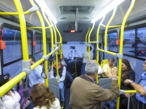 The Bus Which Takes You To Your Plane on the Tarmac, Mariscal Sucre International Airport